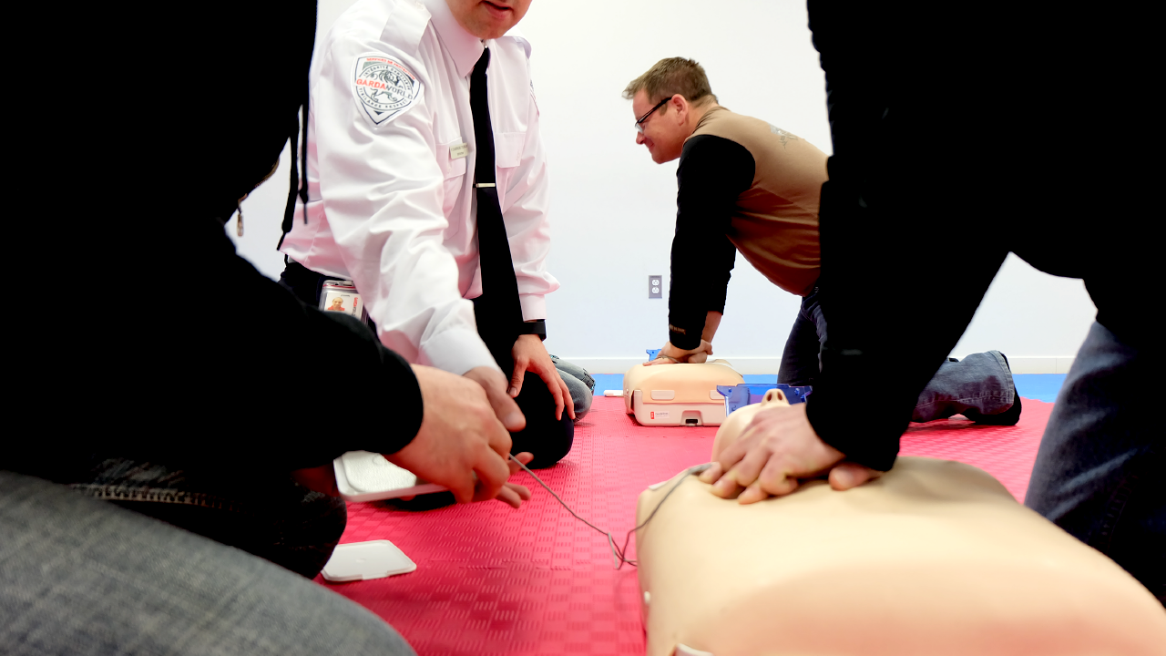 Standard first aid: CPR and AED